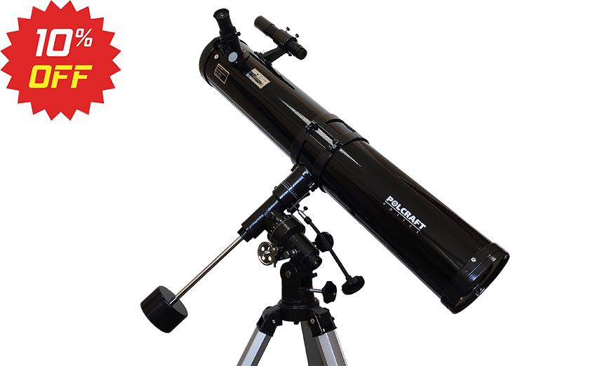 Телескоп POLCRAFT — 114F/900EQ3