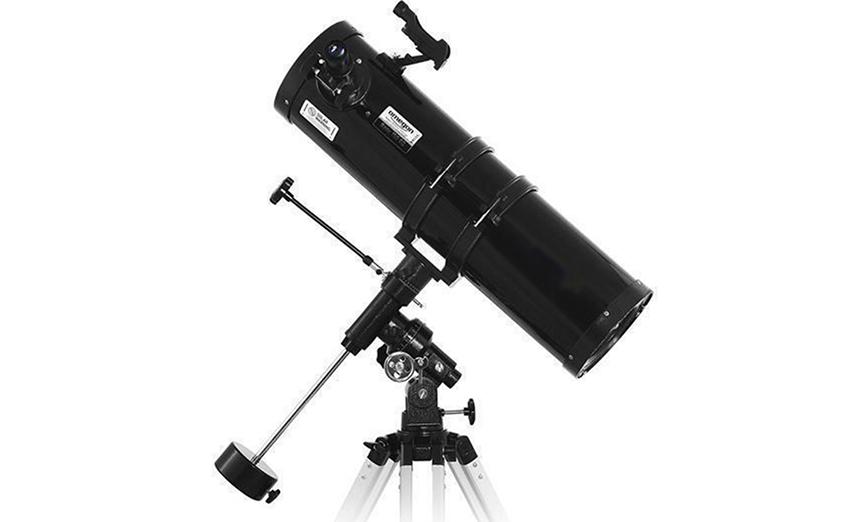 Телескоп Polcraft 150/750, EQ3 black
