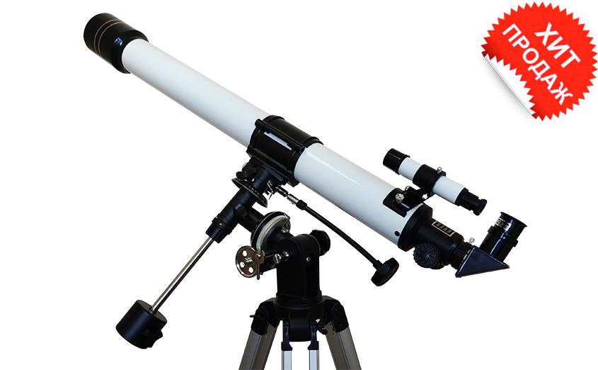 Телескоп polcraft 70/900 EQ2