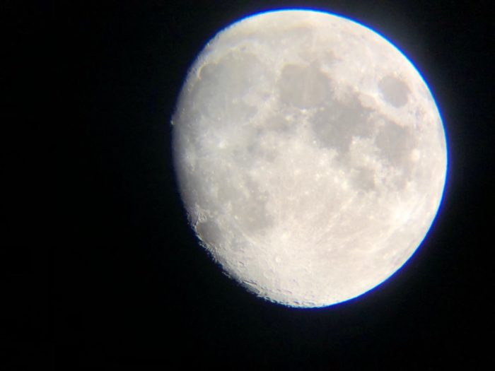 фото луны в телескоп grand-x
