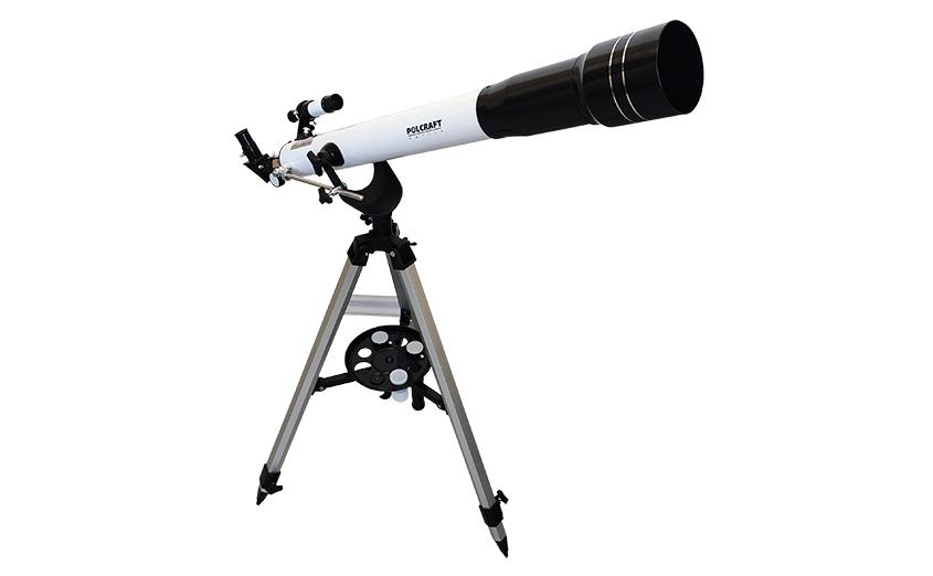 Телескоп polcraft 70/800 AZ